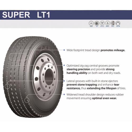 Грузовые шины 385/65 R22.5 MAXELL Super LT1